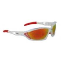 Солнцезащитные очки FORCE MAX white-red frames - laser red lenses