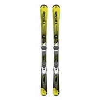 Горные лыжи + крепления HEAD 18 314287/100682 Monster SLR 2 bk/nyw+ SLR 4.5 AC 107