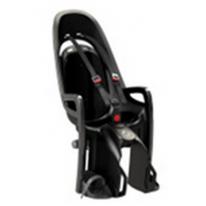 Велокресло детское  заднее HAMAX Zenith на багажник серое-черная подкладка