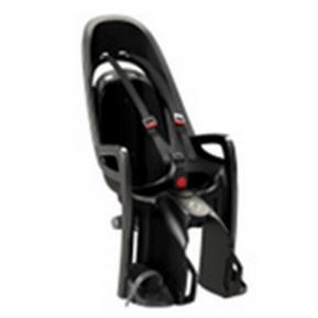 Велокресло детское  заднее HAMAX Zenith на багажник серое-черная подкладка Фото №1