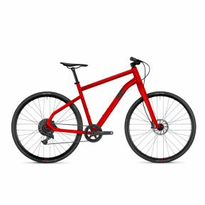 Велосипед Ghost Square Speedline 8.8 AL 28', рама M, красно-черный, 2021 Фото №1