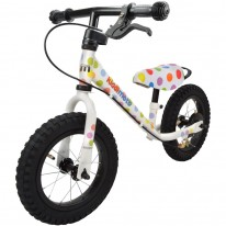 "Беговел  12"" Kiddimoto Super Junior MAX SUPER DOTTY металлический"