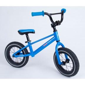 "Беговел 12""  Kiddimoto BMX1 blue Фото №1"
