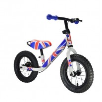 "Беговел   12"" Kiddimoto Super Junior MAX SUPER JACK металлический"