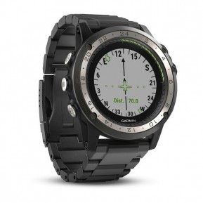 Часы Garmin D2 Charlie, Titanium, GPS Aviation Watch, EMEA Фото №1