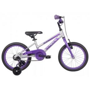 "Велосипед 16"" Apollo NEO girls 2022 Brushed Alloy / Lavender / Purple Fade Фото №1"