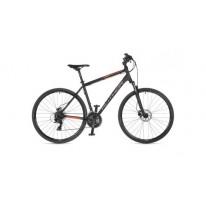 "Велосипед AUTHOR (2021) Horizon 28 ""рама 20"" чорний (неоново помаранчевий) чорний"