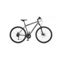 "Велосипед AUTHOR (2021) Vertigo 29 ""рама 18"" сріблястий (зелений) чорний"