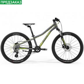 "Велосипед 24"" Merida 2021 MATTS J.24-UN(11) MATT COOL GREY(GREEN/YELLOW) Фото №1"