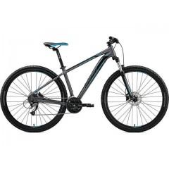 "Велосипед 29"" Merida BIG.NINE 40-D matt dark silver blue - 2021"