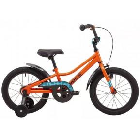 """Велосипед 16"""" Pride FLASH 16 2021 оранжевый Фото №1"""
