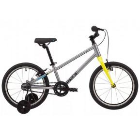 """Велосипед 18"""" Pride GLIDER 18 2021 серый Фото №1"""