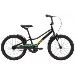 """Велосипед 20"""" Pride FLASH 20 2021 черный Фото №1"""