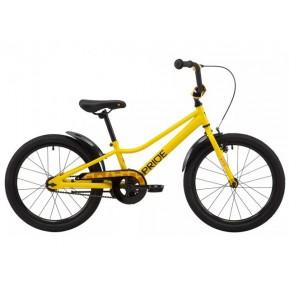 "Велосипед 20"" Pride FLASH 20 2021 желтый Фото №1"