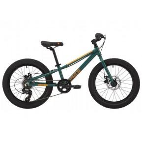 """Велосипед 20"""" Pride ROCCO 2.1 2021 зеленый Фото №1"""