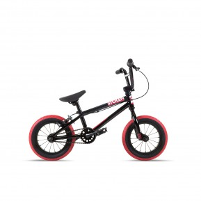 "Велосипед 12"" Stolen AGENT 13.25"" 2021 BLACK W/ DARK RED TIRES Фото №1"
