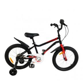 """Велосипед детский RoyalBaby Chipmunk MK 18"""", OFFICIAL UA, черный Фото №1"""