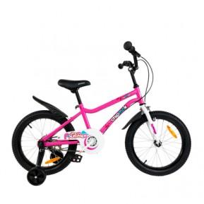 """Велосипед детский RoyalBaby Chipmunk MK 18"""", OFFICIAL UA, розовый Фото №1"""
