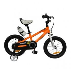 """Велосипед RoyalBaby FREESTYLE 18"""", OFFICIAL UA, оранжевый 2021 Фото №1"""
