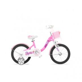 """Велосипед детский RoyalBaby Chipmunk MM Girls 16"""", OFFICIAL UA, розовый Фото №1"""