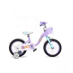 """Велосипед детский RoyalBaby Chipmunk MM Girls 14"""", OFFICIAL UA, фиолетовый Фото №1"""