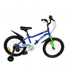 """Велосипед детский RoyalBaby Chipmunk MK 18"""", OFFICIAL UA, синий Фото №1"""
