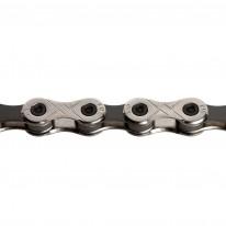 Цепь инд. 114 зв. 1/2x11/128 KMC X10-1 silver/black
