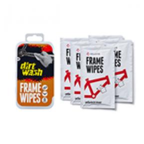 Салфетки для чистки рамы WELDTITE Dirtwash Frame Wipes 4 шт Фото №1