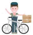 Доставка велокурьером